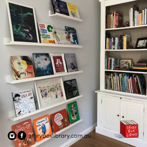 Our #Shelfies for Australian Reading Hour!