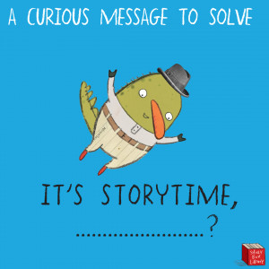 A Curious Message to Solve for CBCA Book Week 2020!