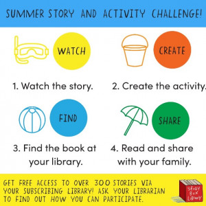 SBL Summer Holiday Story & Activity Challenge