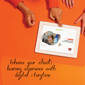 Enhance your school's learning experience with digital storytime