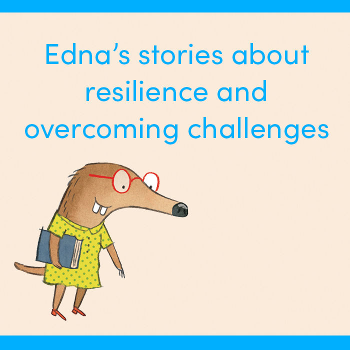 Edna's stories about resilience and overcoming challenges