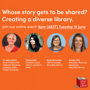 Whose story gets to be shared? Creating a diverse library.