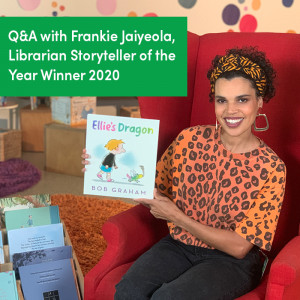 Q&A with Frankie Jaiyeola, Librarian Storyteller of the Year Winner 2020