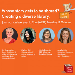 New date: Whose story gets to be shared? Creating a diverse library.